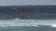 Maui windsurf 1006 6 Stock Footage