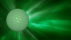 Db golfball 04 hd1080 Stock Footage