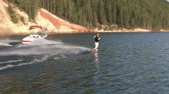 Summer sports wakeboard 806 4 Stock Footage