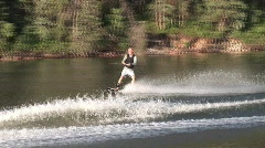 Summer sports wakeboard 806 10 Stock Footage