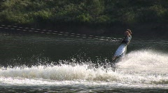 summer sports wakeboard 806 14 - stock footage