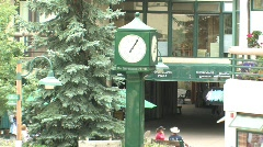 Snowmass Mall 4 Stock Footage