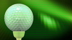 Golf background - stock footage