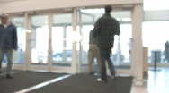 People in a Mall Time Lapse Stock Footage