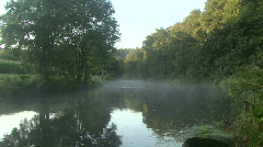 Early Morning River - stock footage