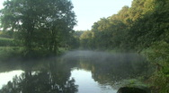 Stock Video Footage of Early Morning River