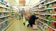 Supermarket B Stock Footage