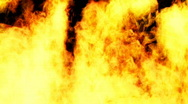 Thick Wall of Fire  Stock Footage