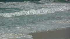 St ives white water waves zoom. Stock Footage