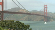 Golden Gate Bridge (still) Stock Footage