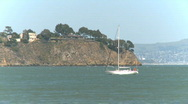 Boat in the bay (5 of 6) Stock Footage