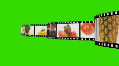 Food Montage Stock Footage