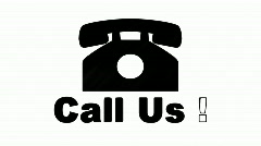 Call Us Sign - stock footage