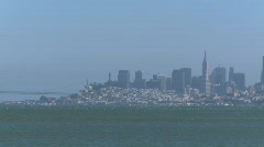 San Francisco skyline (2 of 7) Stock Footage