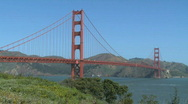 Stock Video Footage of Sunny Golden Gate Bridge (7 of 11)