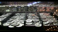 Quarter game - stock footage