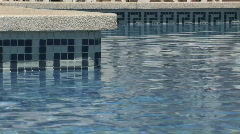 HD1080i Holiday resort in Majorca. Hotel swimming pool. Stock Footage