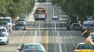 Stock Video Footage of SF Trolley Car on the move (6 of 10)