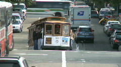 San Francisco Trolley Car (2 of 8) - stock footage