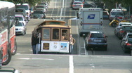 Stock Video Footage of San Francisco Trolley Car (2 of 8)