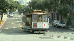 San Francisco Trolley Car (5 of 8) Stock Footage