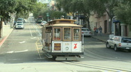 Stock Video Footage of San Francisco Trolley Car (5 of 8)