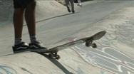 Skateboarder 6 Stock Footage