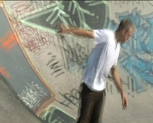 Skateboarder 2 Stock Footage