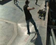 Skateboarder - stock footage