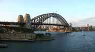 Sydney Timelapse Full day to night Stock Footage