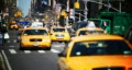 Slow Motion NYC Taxis & Peds Footage