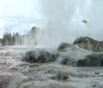 Steaming Earth Stock Footage