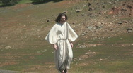 Stock Video Footage of Jesus walk 1