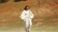 Stock Video Footage of Jesus walk 2