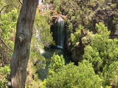 Massive Waterfall in Australia Stock Footage