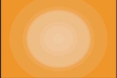 Pulsing Orange Circles motion graphic - stock footage