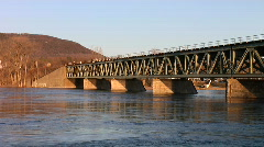 Train Bridge HD - stock footage