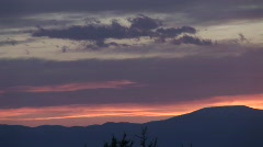 Purple Mountain Majesty Santa Fe Sunset 1 in 3 Stock Footage