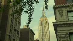 HD30 EMPIRE STATE Stock Footage