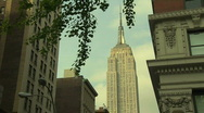 Stock Video Footage of HD30 EMPIRE STATE