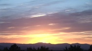 Stock Video Footage of Santa Fe Sunset Time Lapse 2 of 3