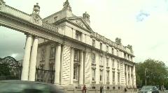 Office of the Taoiseach, Dublin Stock Footage