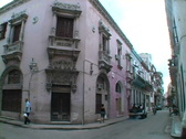 Stock Video Footage of colonial building havana 2