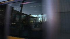 Luas Tram O'Connell Street, Dublin - stock footage