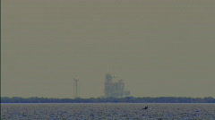 Stock Video Footage of Shuttle launch atlantis