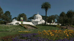 Conservatory_of_flowers_0267-01 Stock Footage