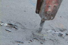 road construction - stock footage