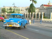 Stock Video Footage of old cars in havana 5
