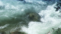 River turbulance Stock Footage