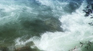 Stock Video Footage of River turbulance